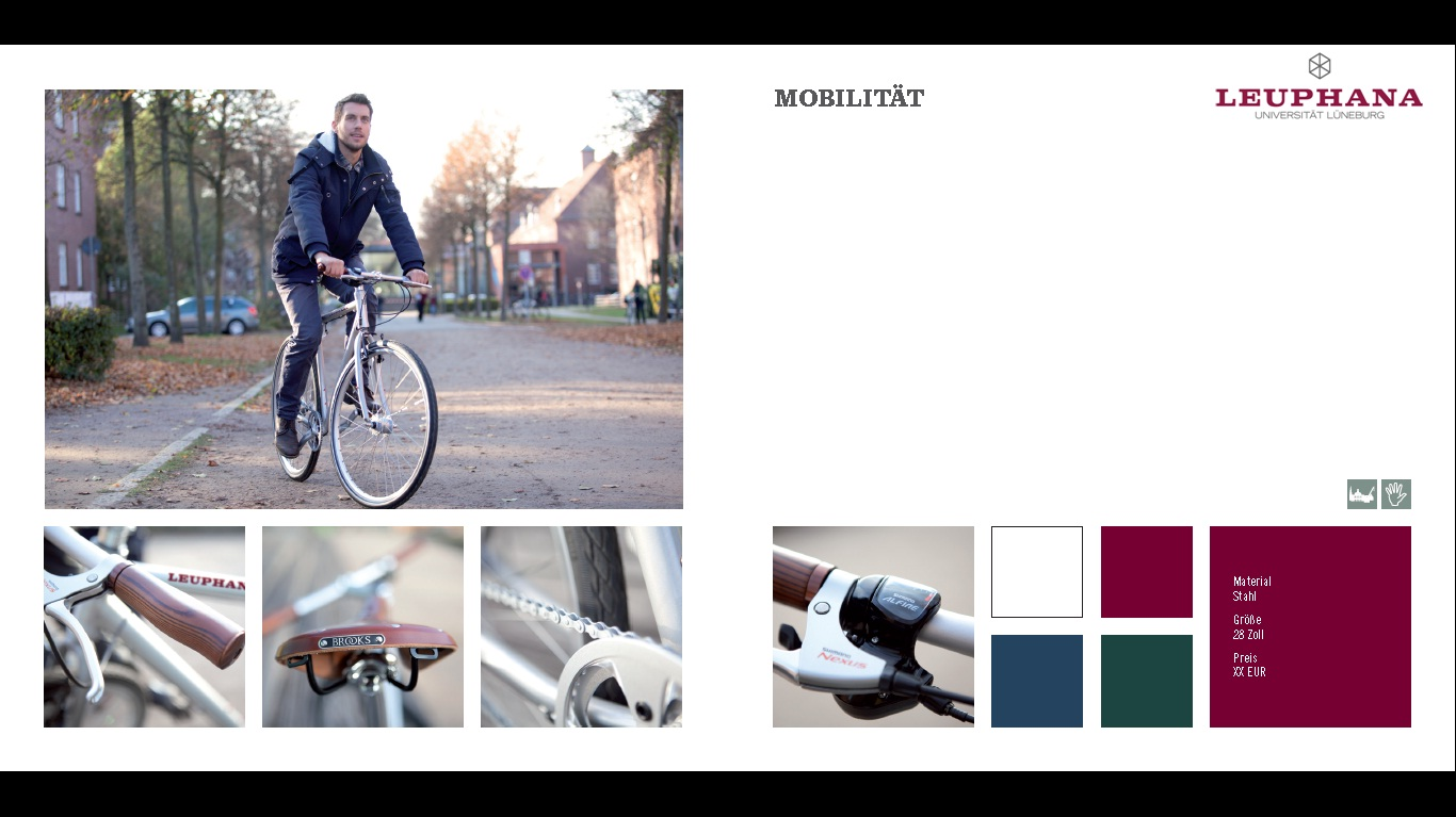 Fahrrad für die Leuphana Lüneburg