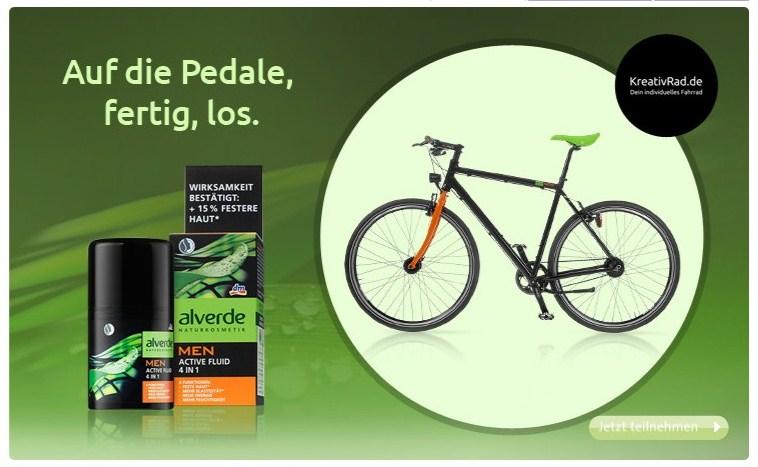dm Alverde MEN Fahrrad