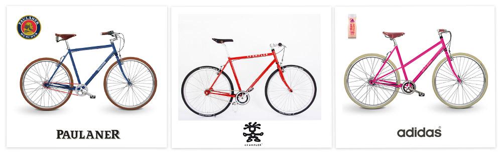 Design von Firmenfahrrädern im Corporate Design