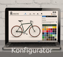 Unser Fahrrad-Konfigurator - Stelle spielerisch dein Traumrad zusammen!