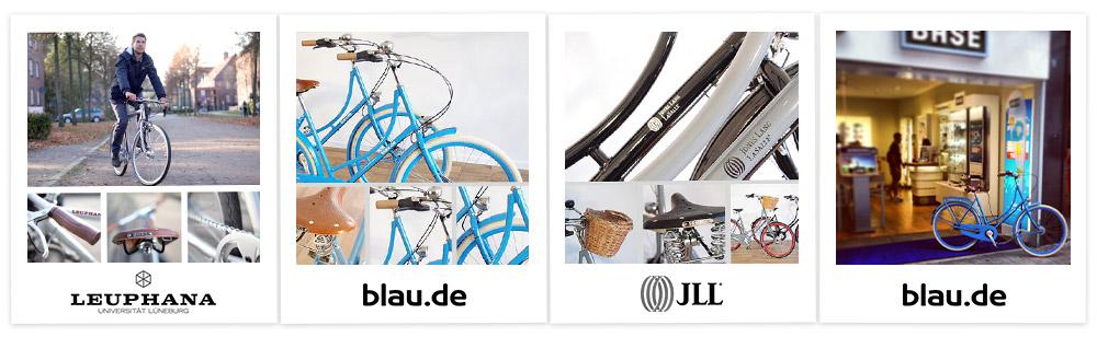 Corporate Bikes von Kreativrad für blau.de, Jones Lang LaSalle u. v. m. …