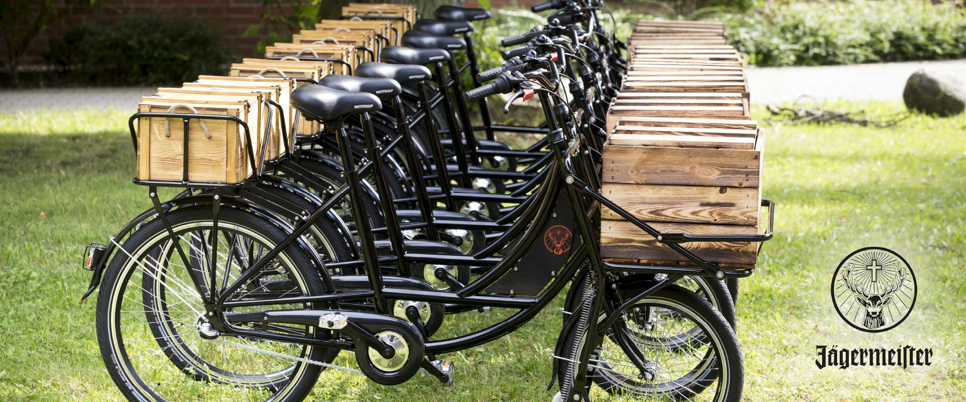 Jägermeister - Festival Fahrrad
