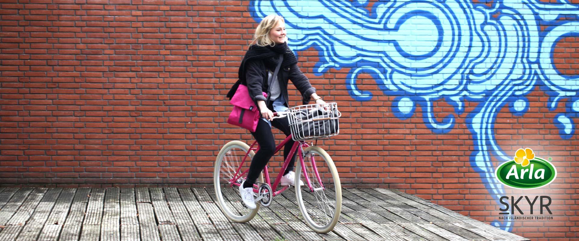 Gewinnspiel Fahrrad - Arla-skyr