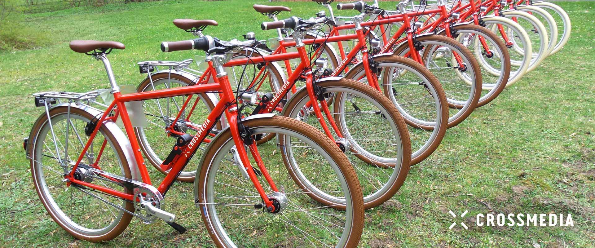 Leih-Fahrrad Crossmedia