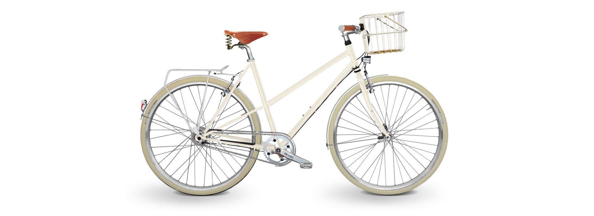 KreativRad - Damenrad weiß