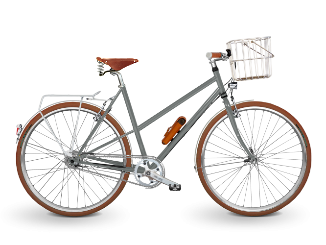 KreativRad-CromoRad-Damen-Stahlrahmen Fahrrad