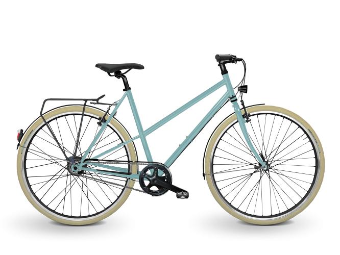 KreativRad EcoStadtRad Fahrrad Konfigurator Pastelltürkis 6034