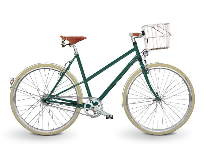 KreativRad Fahrrad Konfigurator CromoRad in Moosgrün 6005