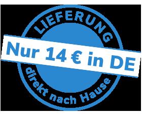 Direkt nach Hause für 14 € - innerhalb Deutschlands